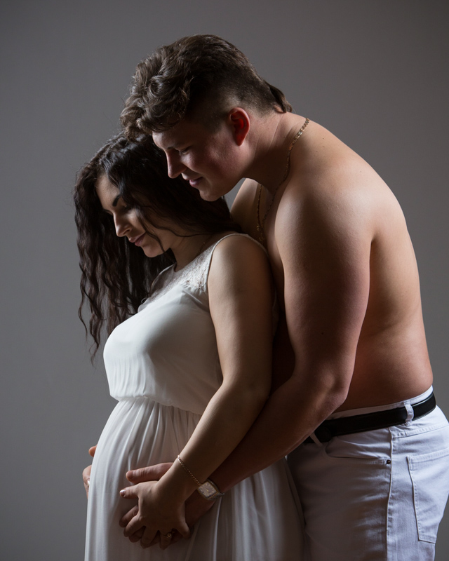 gravidfotografering , parbild