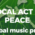 kort videofilm av en event A local act for peace festivalen