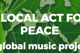 kort videofilm av en event A local act for peace festivalen