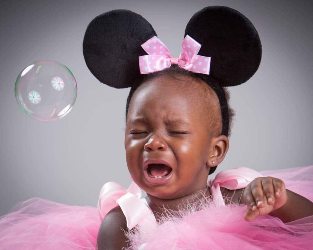 Barn som är trötta blir ledsna lätt ...