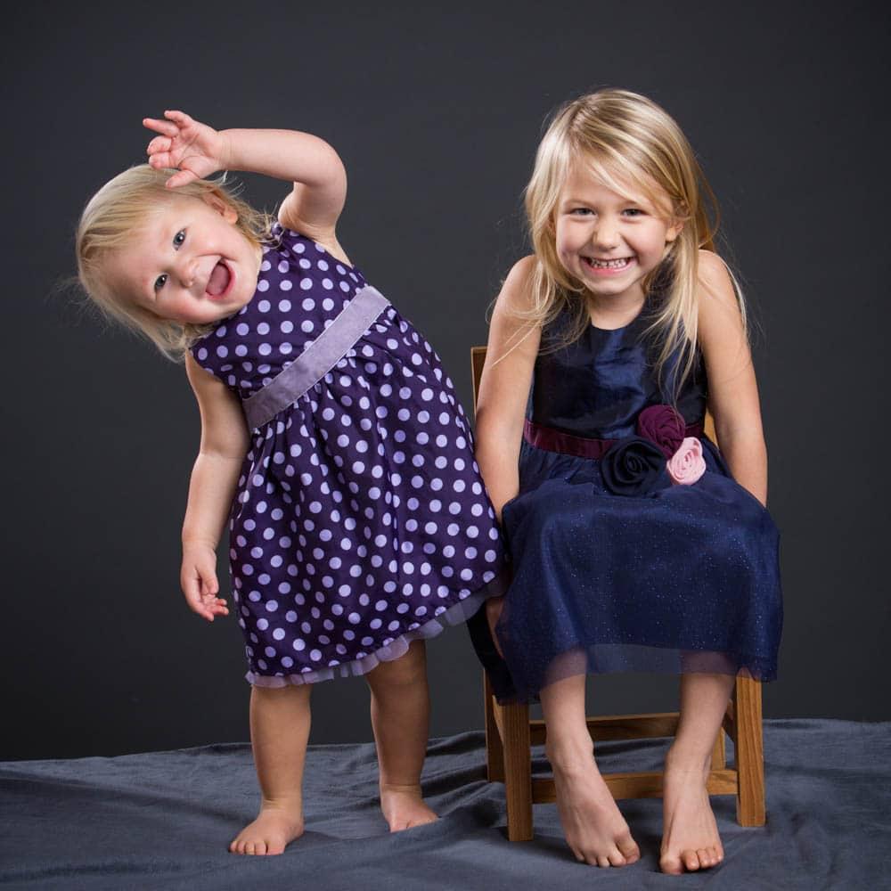 Barnfotografering i studio ska vara lekfull och skojigt!