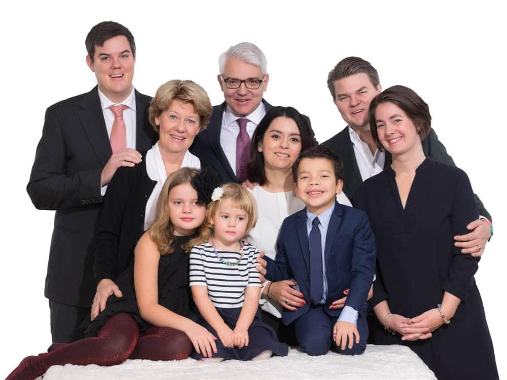 Familjefotografering-släktfotografering