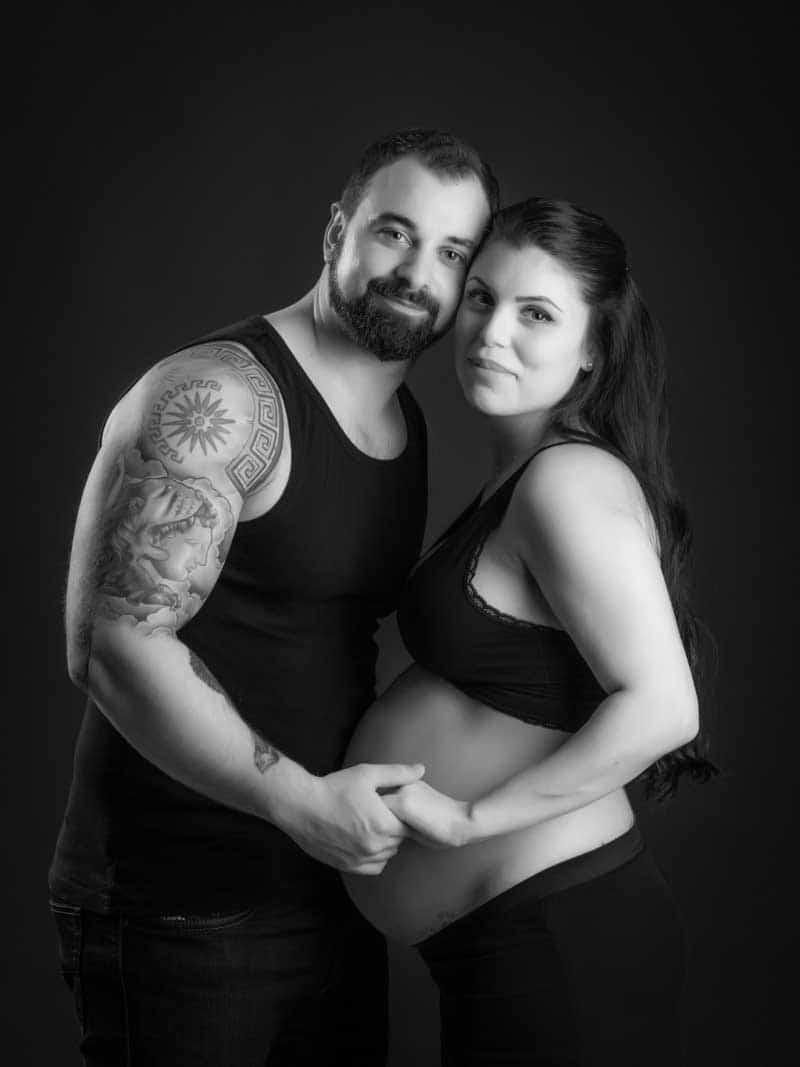 Låt blivande pappa vara med din gravidfotografering