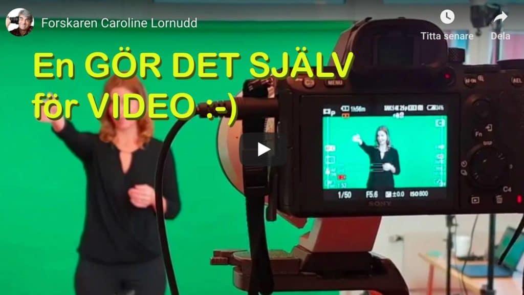 Filma din egen video