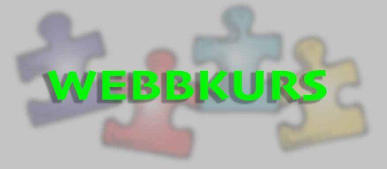 bygga en webbkurs