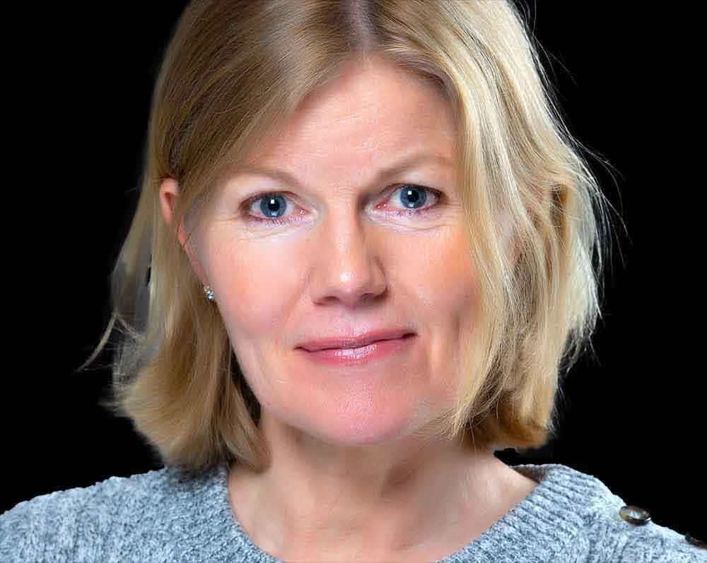 Headshot, profilbild, CV bild eller porträtt